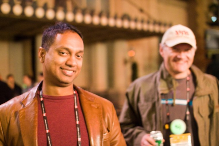 With Martin Koser @frogpond at Lotusphere 2011 party