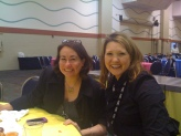 Breakfast with Jennifer Okimoto (@jenokimoto) and Melissa Marosso at Lotusphere2012, Orlando