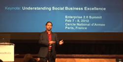 My Opening Keynote at 2012-02-05 Enterprise2.0 Summit, Paris