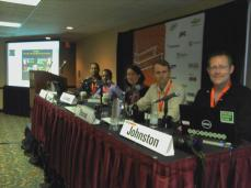 SXSW2012 panel on Serendipity with Duleesha Kulasooriya, Jennifer Okimoto, Jim Storer and Bill Johnston