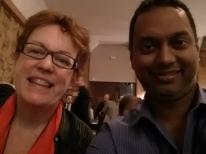 With Jane McConnel @netjmc at Enterprise2.0 Summit 2013