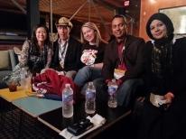 SXSW 2013 Author's party (@AnnTran, @SteveGarfield, Kerry Gorgone, myslef, Amna Nadim)