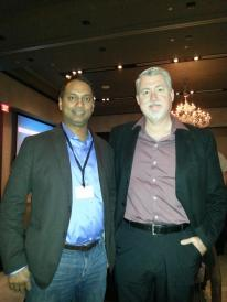 With Dion Hinchcliffe @dhinchcliffe, Dachis Social Business Summit Austin 2013
