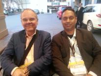 A rickshaw ride with Don Tapscott @dtapscott at SXSW2013