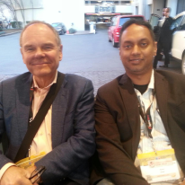 A rickshaw ride with Don Tapscott @dtapscott at SXSW2013