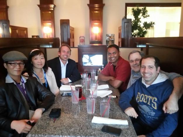 Lithium Technologies LiNC 2013 (Michael Wu @micha8lwu, Margie Wu, @BrianVellmure, myself, Paul Greenberg @pgreenbe, Alan Lepofsky @alanlepo)