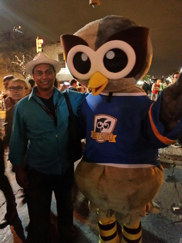 SXSW 2013 (with Owly of Hootsuite)