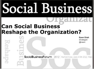 Can Social Business Reshape the Organization?