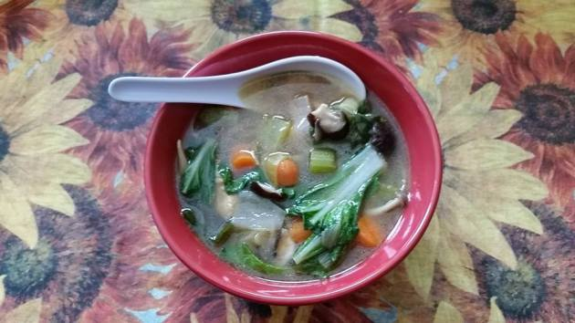 Chicken-BokChoy-Leek-Soup